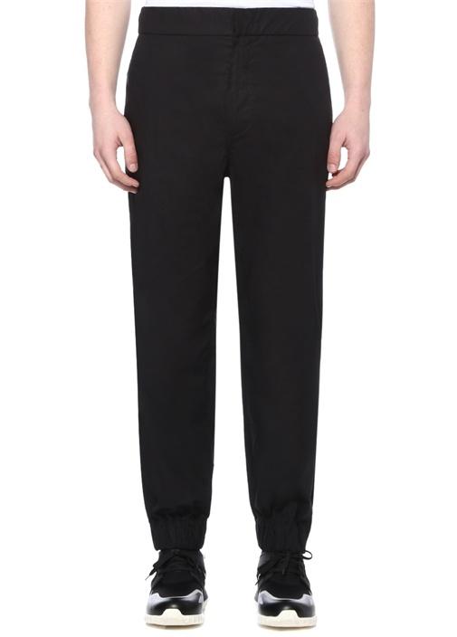 Genius 2 Siyah Logolu Jogger Pantolon
