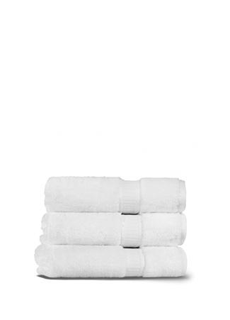 Fancy Beyaz Banyo Havlusu