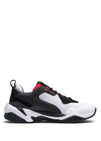 Puma Kadın Thunder Spectra Siyah Kırmızı Logolu Sneaker 3.5 UK