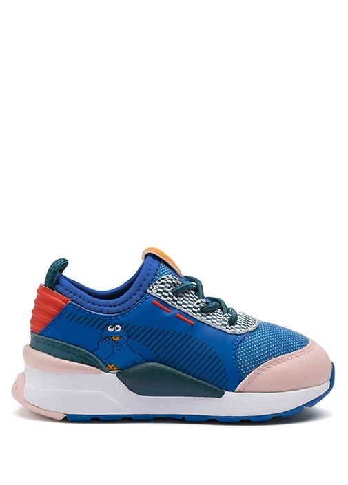 Sesame Street RS 0 Mavi Kız Çocuk Sneaker
