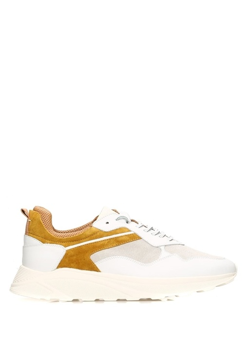 Orione Renk Bloklu Erkek Deri Sneaker