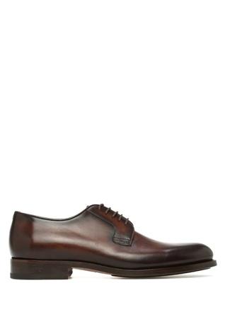 Magnanni Erkek Kahverengi Deri Ayakkabı Turuncu 39.5 EU male