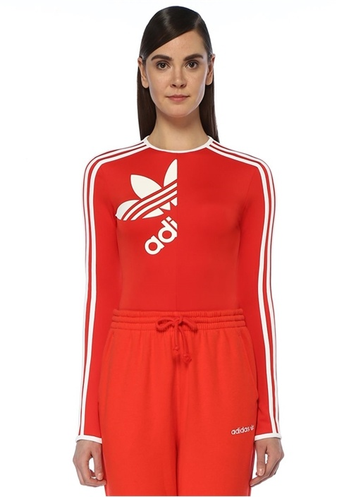 Ji Won Choi Kırmızı Uzun Kol Body