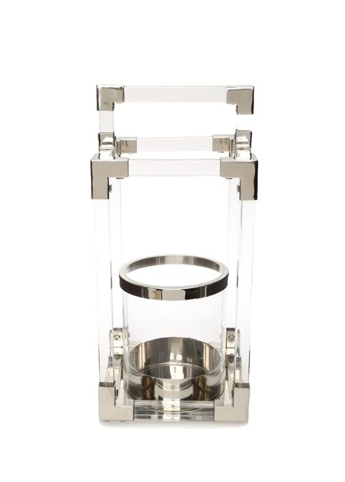 Lantern Metal Detaylı Mumluk