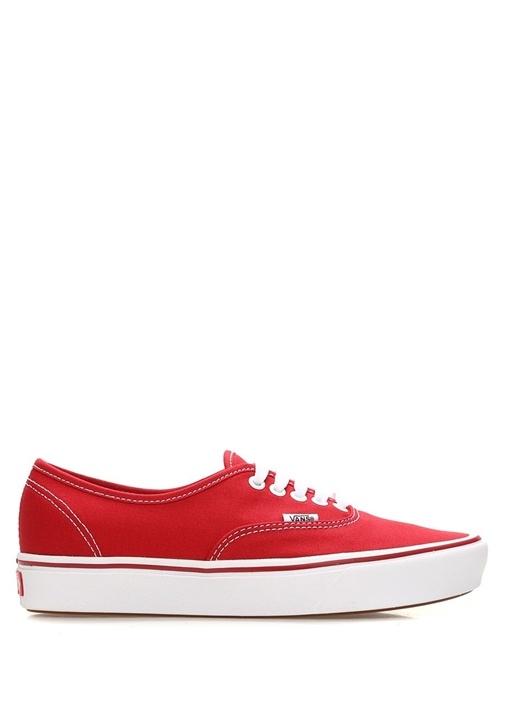 Comfy Cush Kırmızı Şerit Detaylı Kadın Sneaker