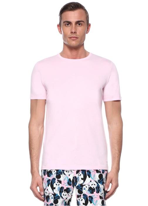 Edward Pembe Basic T-shirt