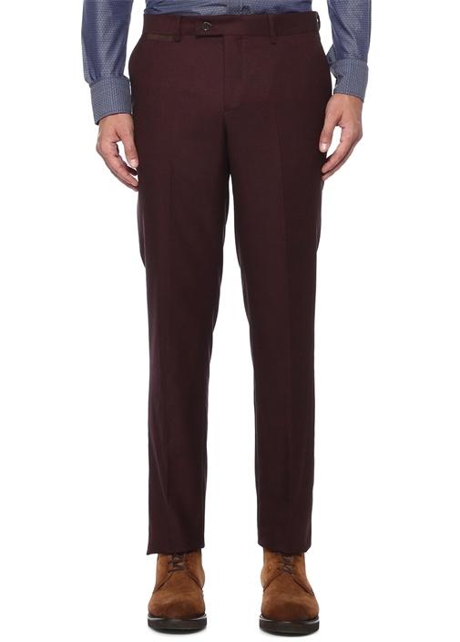 Drop 6 Bordo Boru Paça Pantolon