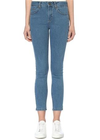 Normal Bel Yıkamalı Skinny Jean Pantolon