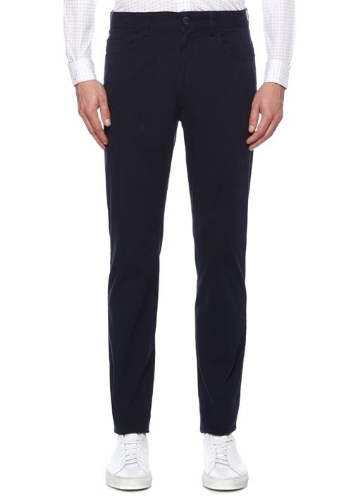 Slim Fit Lacivert Spor Pantolon
