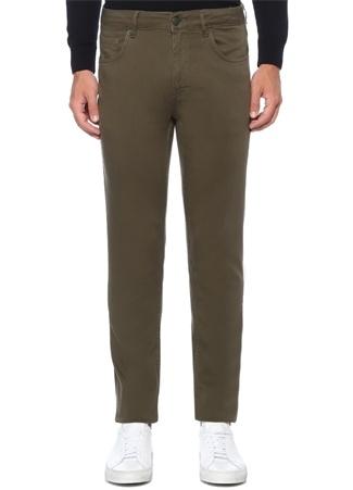 XSlim Fit Haki Normal Bel Spor Pantolon
