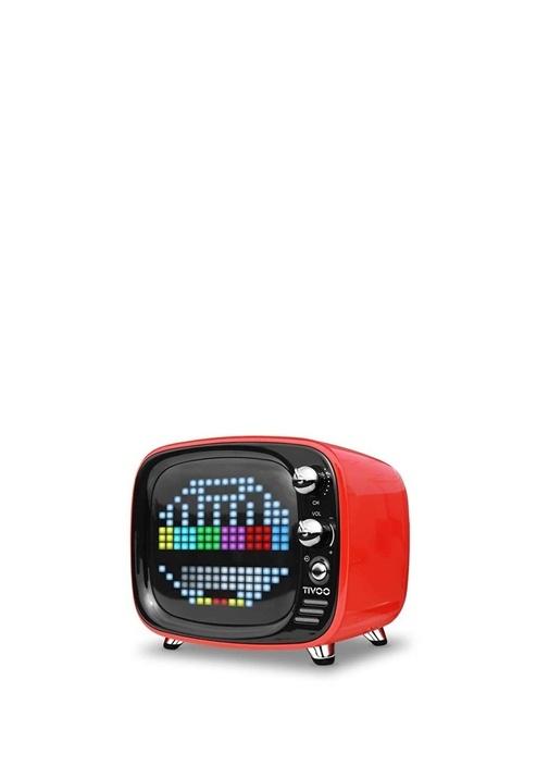 Tivoo Kırmızı Pixel Art Smart BluetoothHoparlör