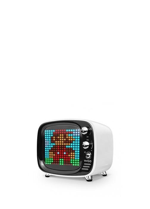 Tivoo Beyaz Pixel Art Smart Bluetooth Hoparlör