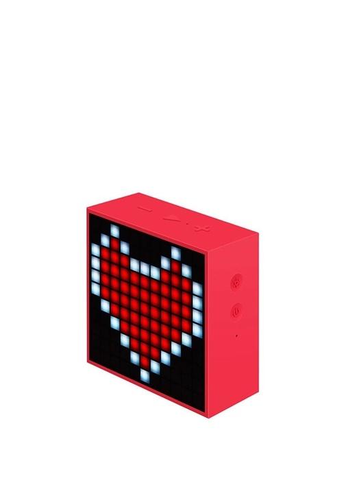 Mini Kırmızı Pixel Art Smart Bluetooth Hoparlör