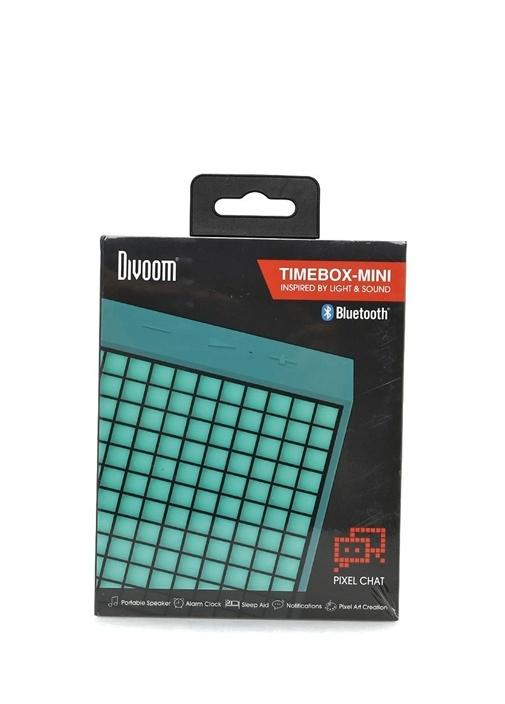 Mini Yeşil Pixel Art Smart Bluetooth Hoparlör