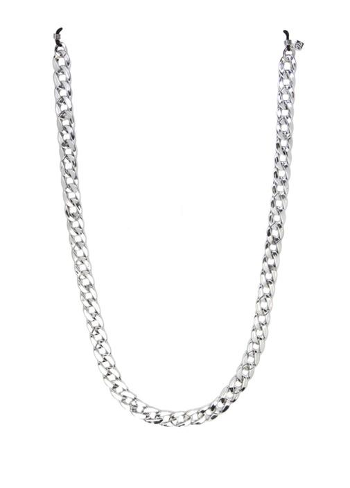 Silver Zincir Formlu Kadın Gözlük İpi