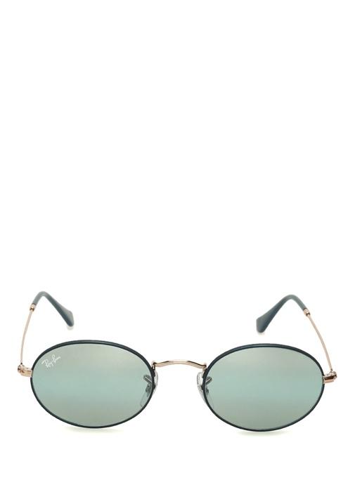 Mavi Oval Formlu Kadın Güneş Gözlüğü