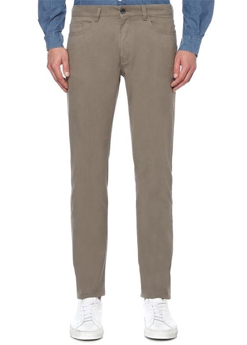 Slim Fit Vizon Normal Bel Pantolon