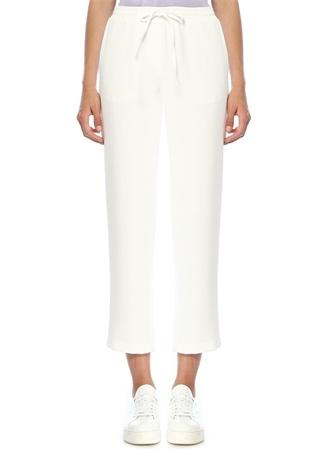 Beymen Club Kadın Beyaz Beli Bağcıklı Pijama Pantolon 38 EU