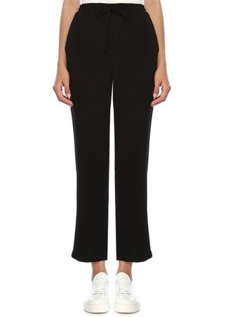 Beymen Club Kadın Siyah Beli Bağcıklı Pijama Pantolon 36 EU