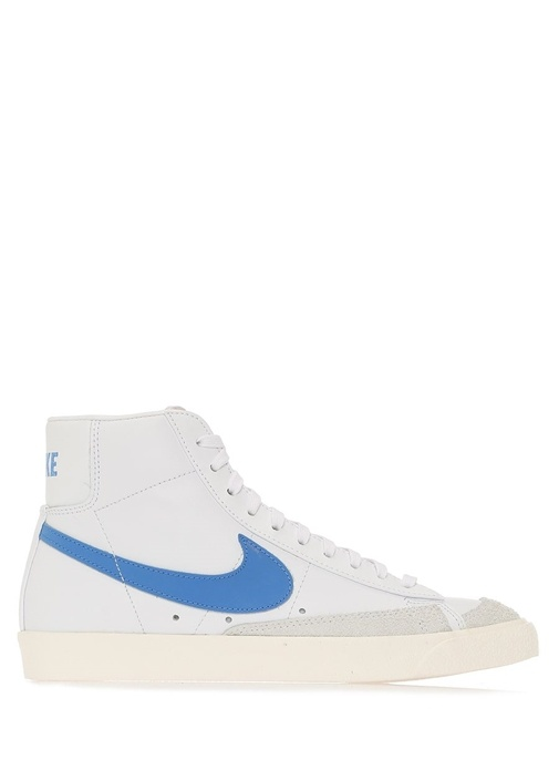 Blazer Mid Vintage 77 Beyaz Erkek Deri Sneaker
