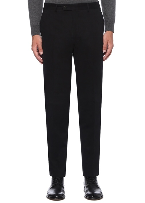 Drop 7 Siyah Normal Bel Pantolon