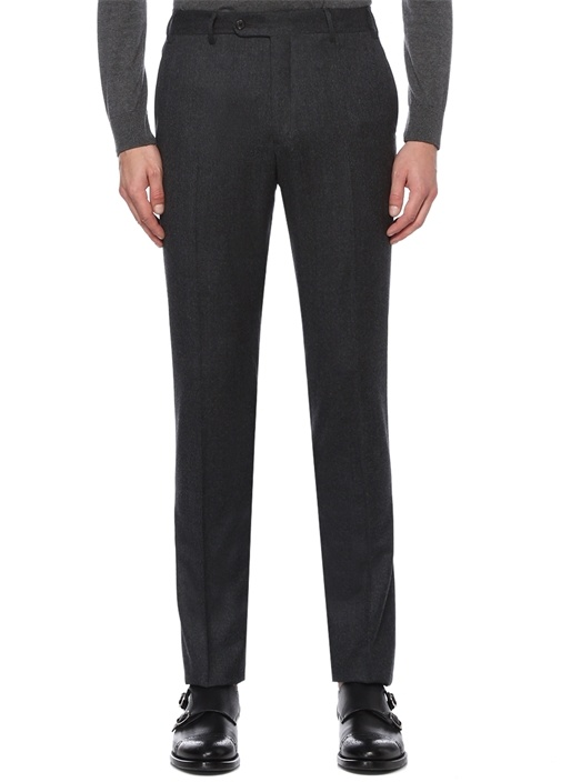 Drop 8 Slim Fit Gri Normal Bel Pantolon