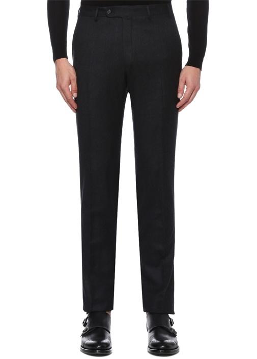 Drop 8 Slim Fit Antrasit Normal Bel Yün Pantolon