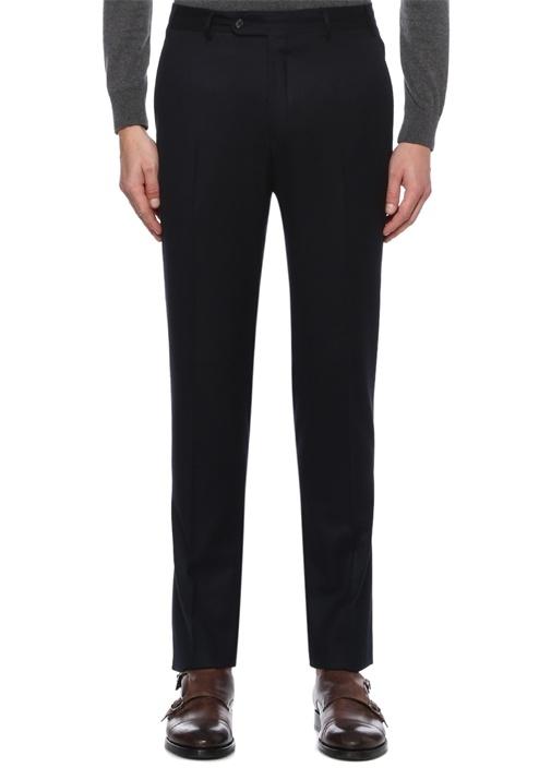 Drop 8 Slim Fit Lacivert Normal Bel Yün Pantolon