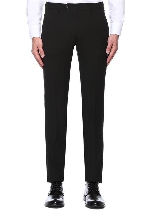 Siyah Normal Bel Yarı Klasik Pantolon