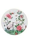Blushing Birds Çiçek Desenli Porselen Supla