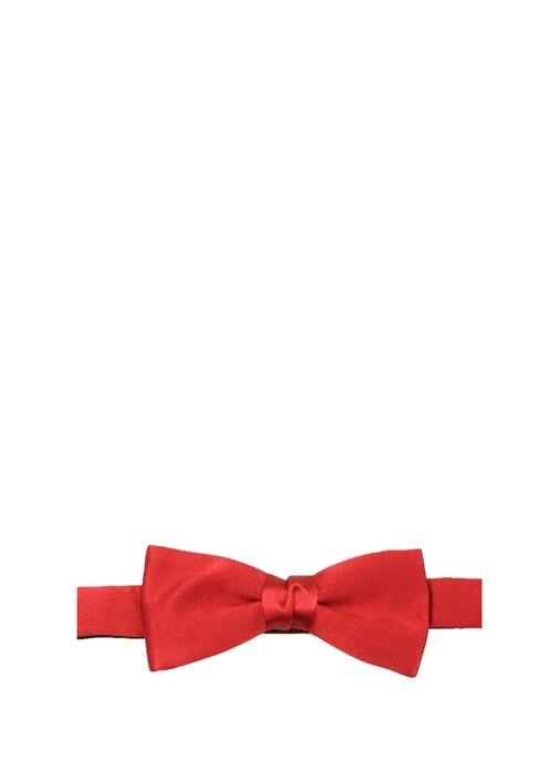 Kırmızı İpek Papyon