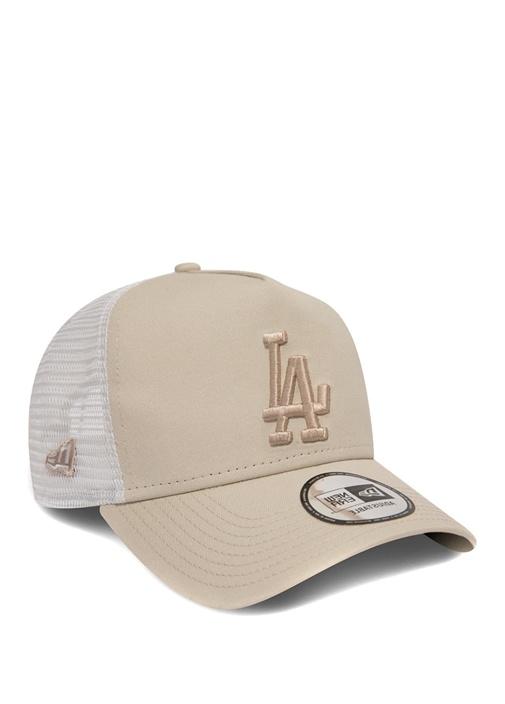 Los Angeles Dodgers League Bej Kadın Şapka