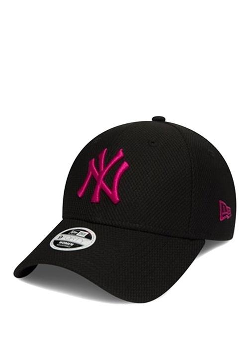 New York Yankees 9 FortySiyah Pembe Kadın Şapka