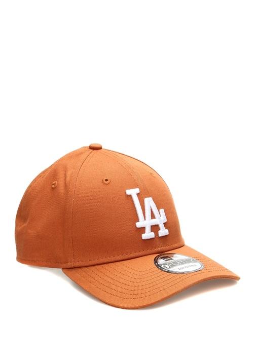 Los Angeles Nakışlı Kiremit Erkek Şapka