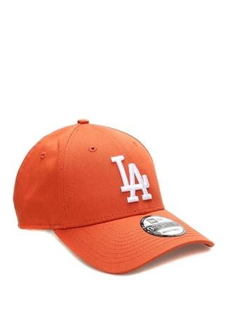 New Era Erkek Los Angeles Nakışlı Turuncu Şapka EU male Standart