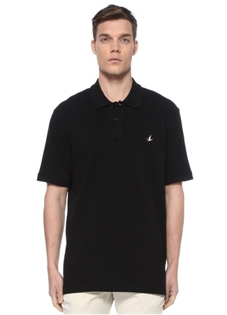 Beymen Club Erkek Ekstra Comfort Fit Siyah Polo Yaka T-shirt 3 male