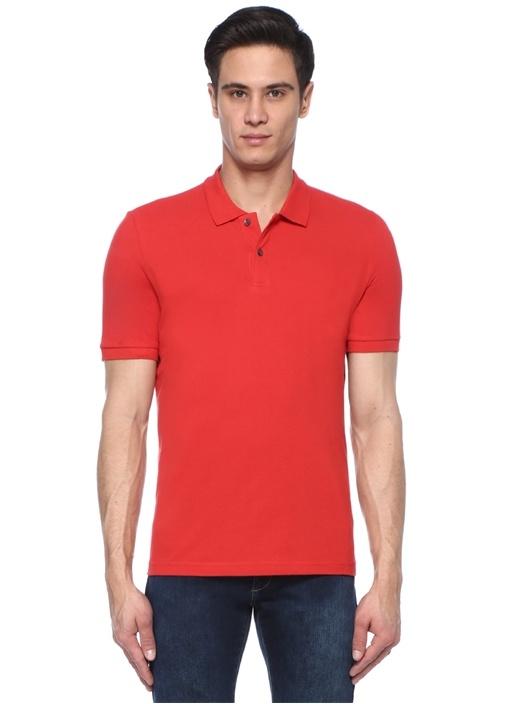 Comfort Fit Kırmızı Polo Yaka T-shirt