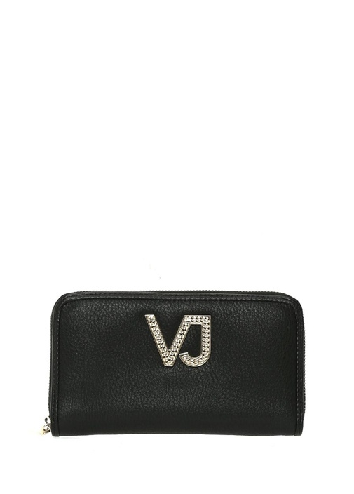 Versace Siyah Logolu Kadın Cüzdan – 489.0 TL