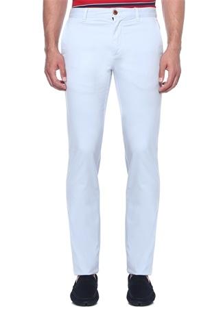 Erkek Mavi Boru Paça Kanvas Pantolon 42-34 US