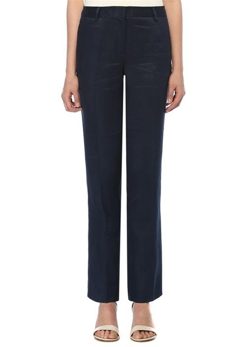 Brooks Brothers Lucia Fit Lacivert Boru Paça İpek Pantolon – 499.0 TL