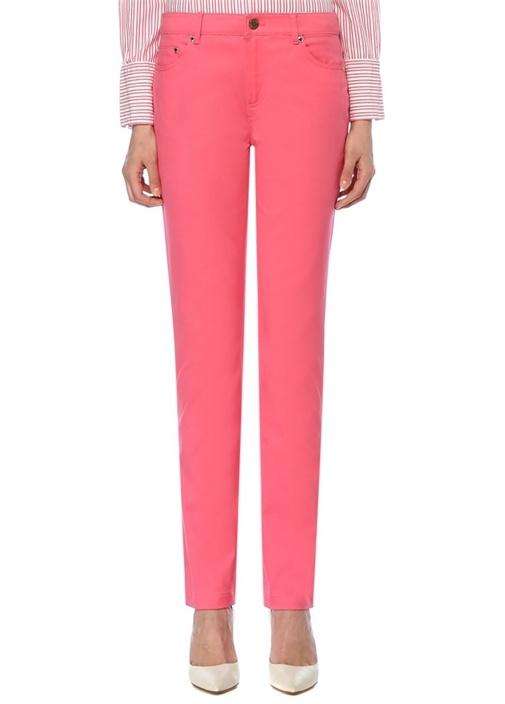 Brooks Brothers Natalie Fit Pembe Normal Bel Boru Paça Pantolon – 299.0 TL