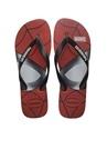 Marvel Spiderman Siyah Erkek Plaj Terliği