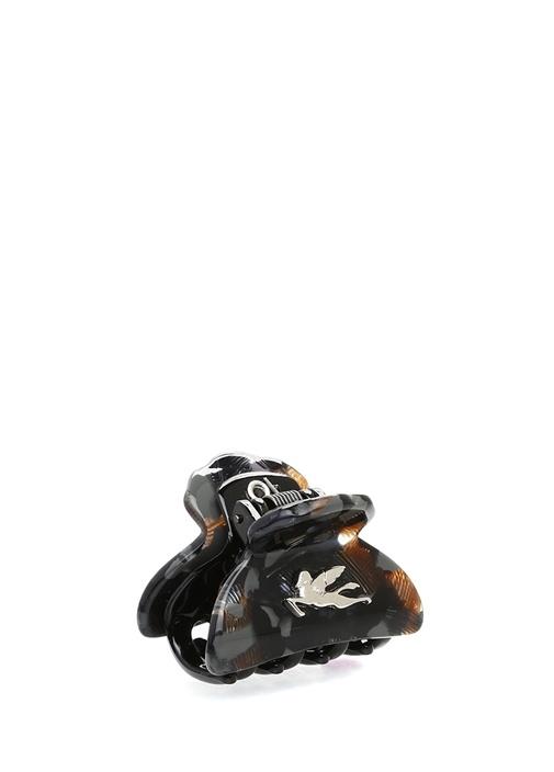 Siyah Desenli Logolu Toka