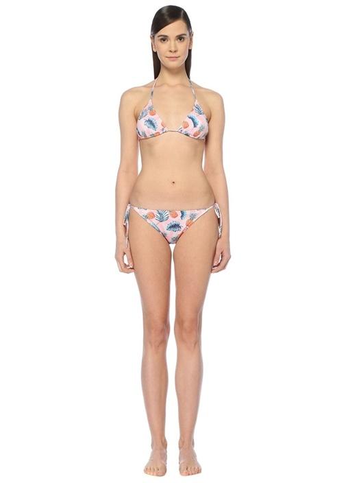 Aloha Pembe Üçgen Bikini Takımı