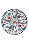 İzmir Mavi El Yapımı Dekoratif Tabak