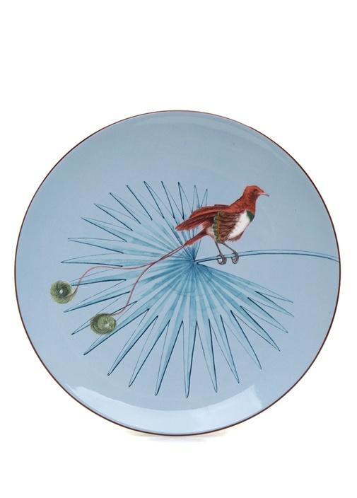 Birds Of Paradise Dekoratif Tabak
