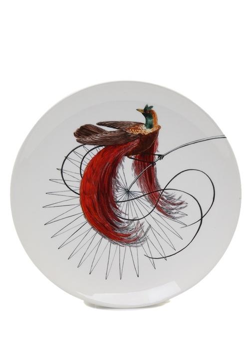 Birds Of Paradise El Yapımı Dekoratif Tabak
