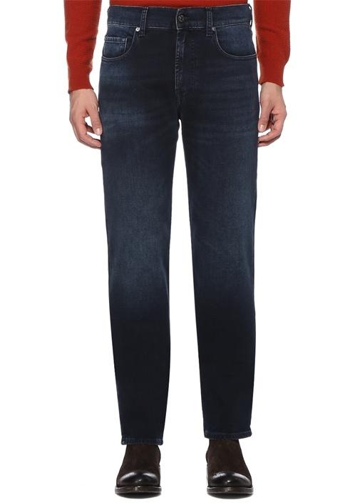 Slimmy Lacivert Jean Pantolon