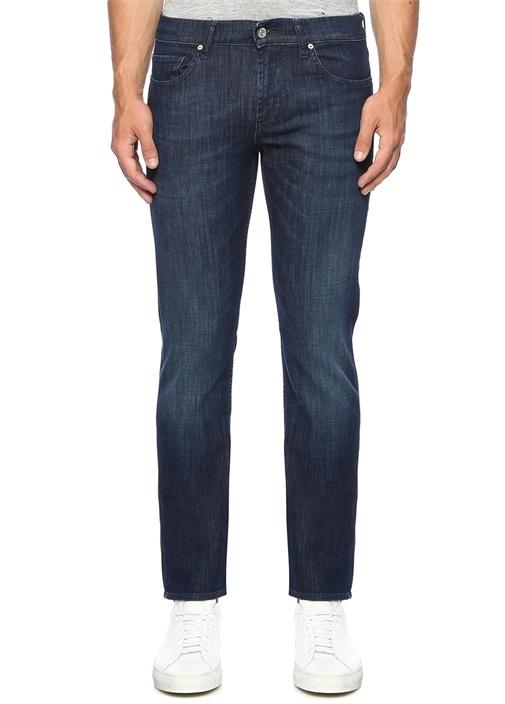Slimmy Lacivert Normal Bel Jean Pantolon