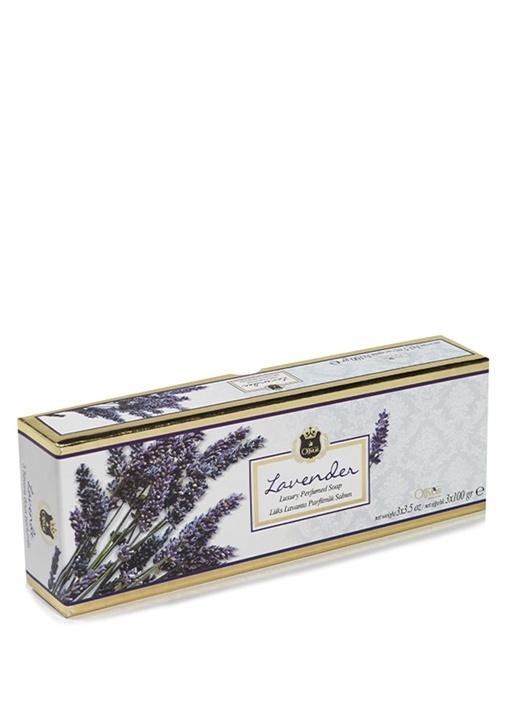 3lü Lux Lavender Parfümlü Sabun Seti